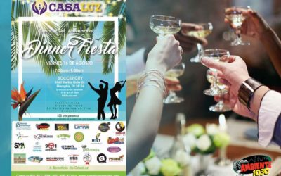 3er Aniversario CasaLuz Dinner-Party